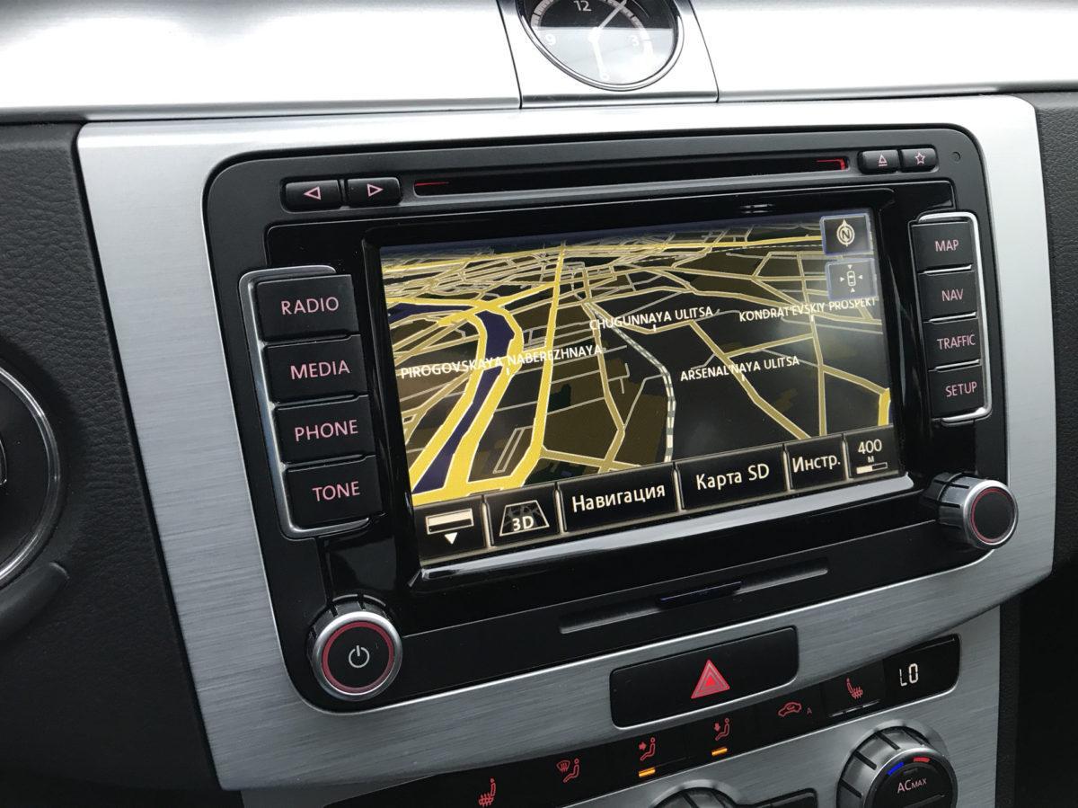 Штатное головное устройство (ШГУ) RNS-510 для автомобилей Volkswagen, Skoda и Seat.