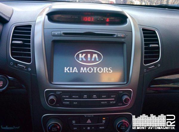 Штатная магнитола (ШГУ) KiA Sorento (2012-2019г.) - Motrex MTXT900ХМ