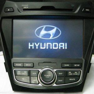 Штатная магнитола (ШГУ) Hyundai Santa Fe (2012-2015г.) — Motrex MTXT900DM комплектации High Tech