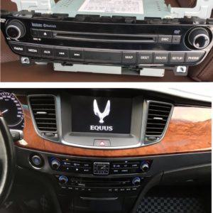 Штатная магнитола (ШГУ) Hyundai Equus (2012-2015г.) — Motrex MTXT900VI