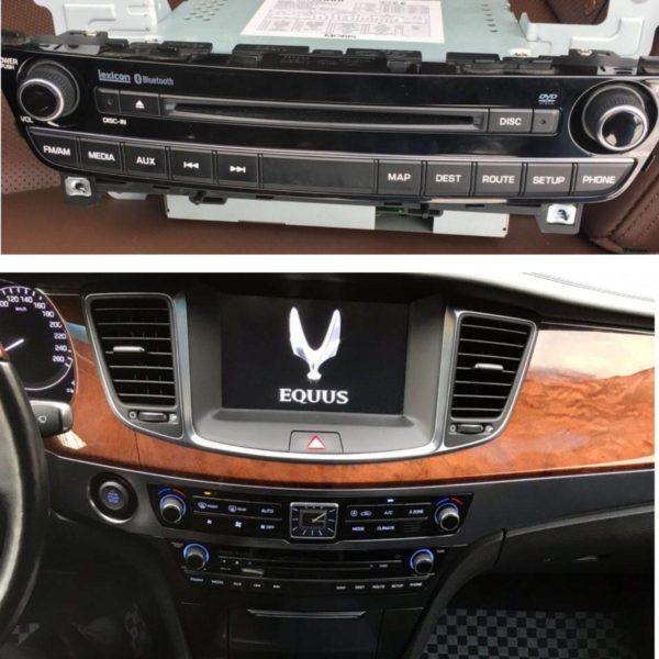 Штатная магнитола (ШГУ) Hyundai Equus (2012-2015г.) - Motrex MTXT900VI