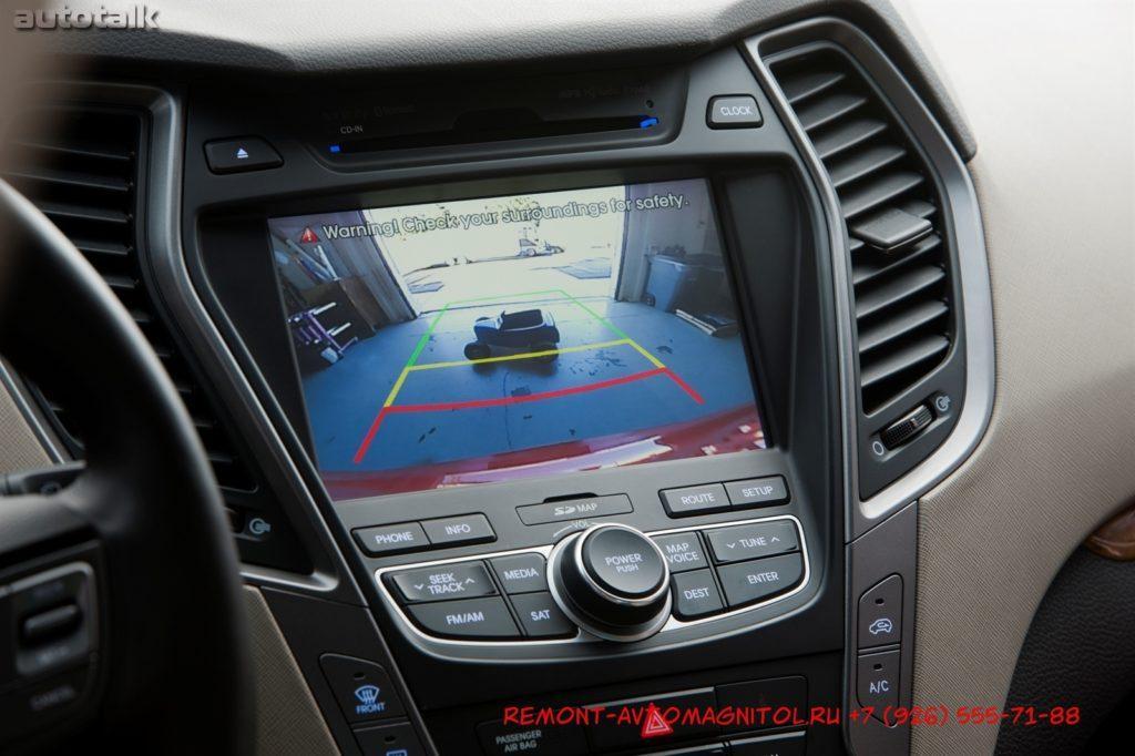 Ремонт штатной магнитолы Хендай Санта Фе,Ремонт автомагнитолы Hyundai Santa Fe