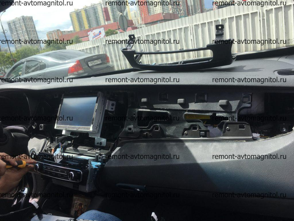 Ремонт/демонтаж автомагнитол KiA Quoris