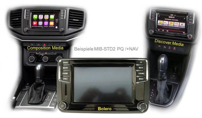 Ремонт MiB1,MiB2 и MiB2,5 — VW/Skoda