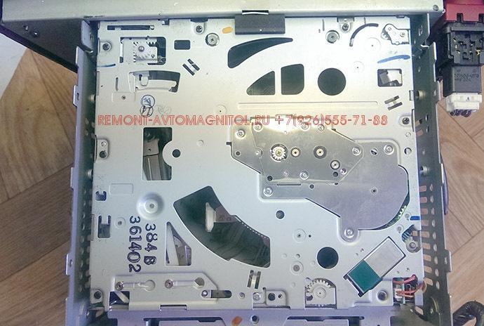 Ремонт штатных магнитол Volvo HU-850,ремонт cd чейнджера на 6 дисков