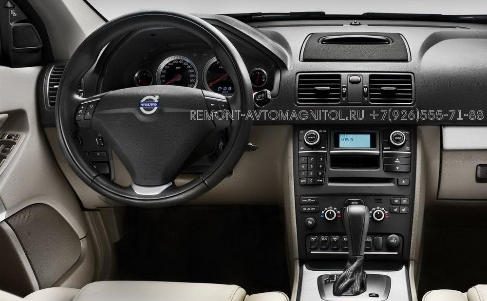 Ремонт штатных магнитол Volvo xc90