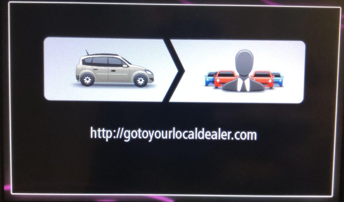 Ремонт R-Link Live Renault tom tom